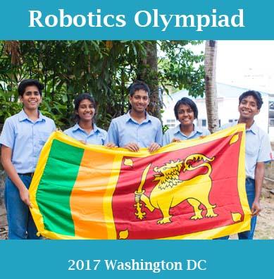 Moir Represents Sri Lanka In International Robotics Olympiad
